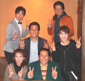 女の演歌・男の演歌決起大会に参加した歌手7人.jpg
